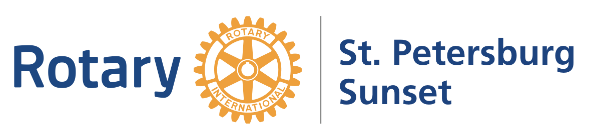 Rotary Club of St. Petersburg Sunset Logo